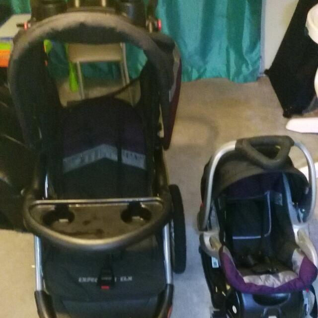 Stroller W Baby Seat
