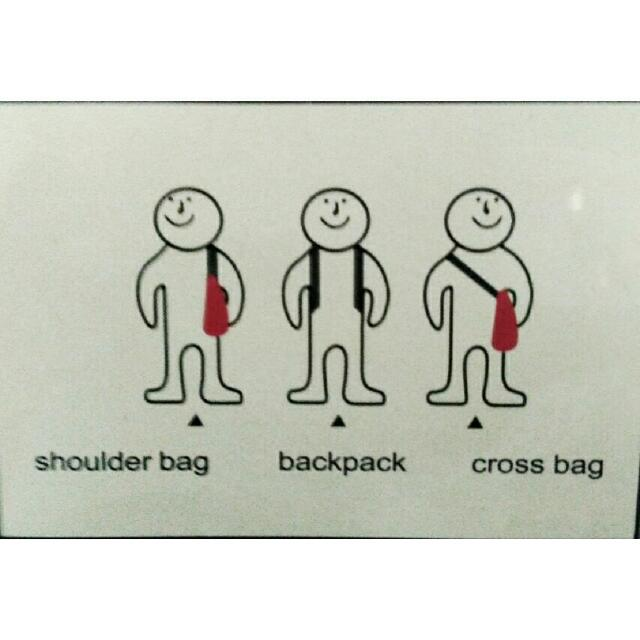 stuff: 3 easy ways to carry bag.