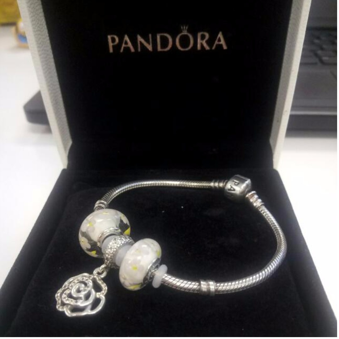Super Sale! Authentic Pandora Collier 18cm