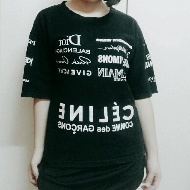 數字英文字母特別個性t恤上衣 #交換最划算