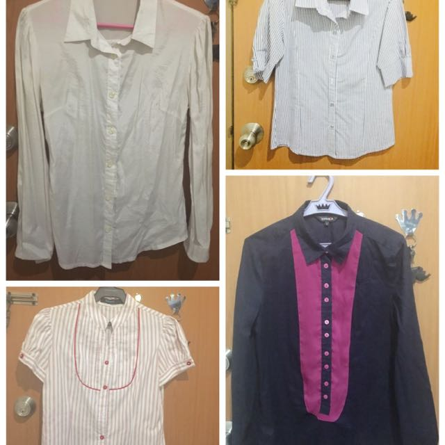 take all button downs small to medium frame