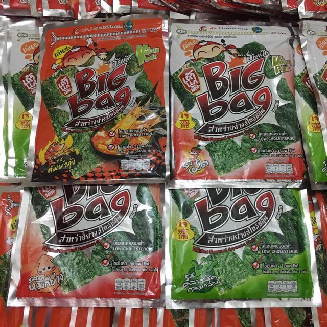 Tao Kae Noi Big Bag Seaweed