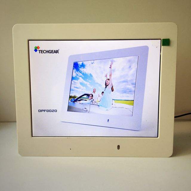 Techgear Digital Photo Frame 電子相架 相框