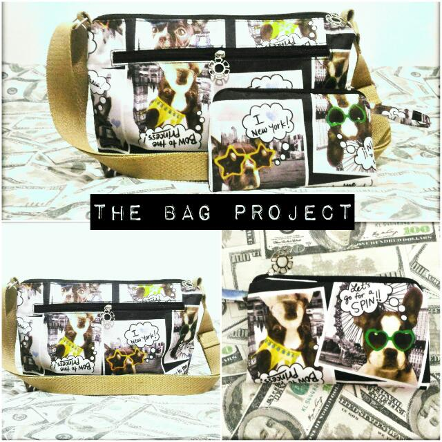 The Bag Project Sling Bag/Purse