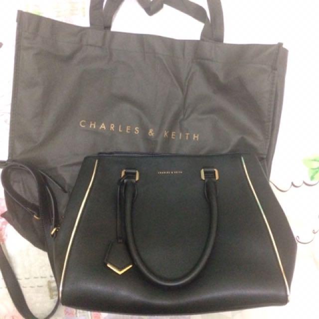 Top Handle Bag Charles & Keith
