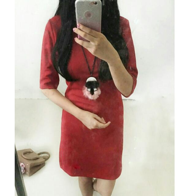 SALE Topshop Red Dress