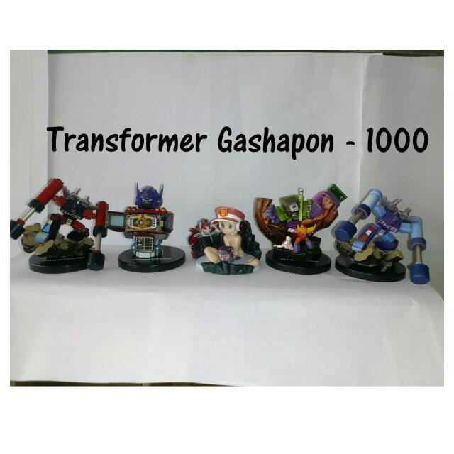 Transformers Gashapon