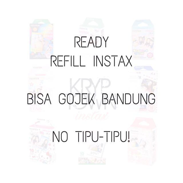 TRUSTED!!! Refill Instax Bisa Gojek Bandung