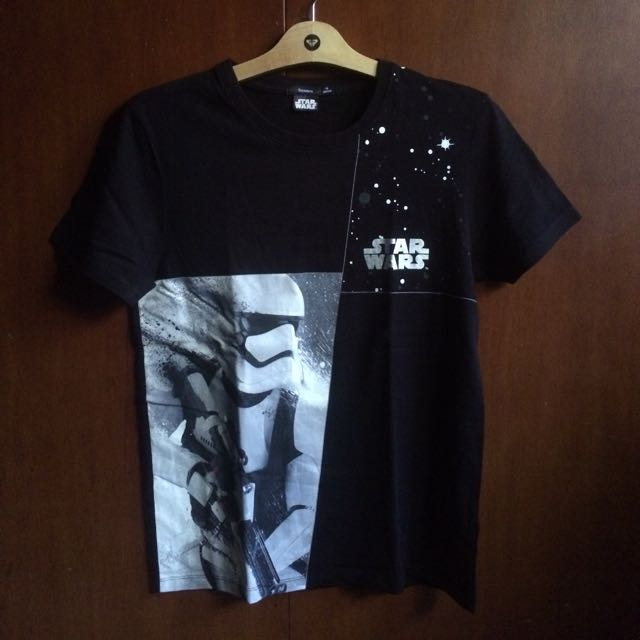 Tshirt Star Wars Black