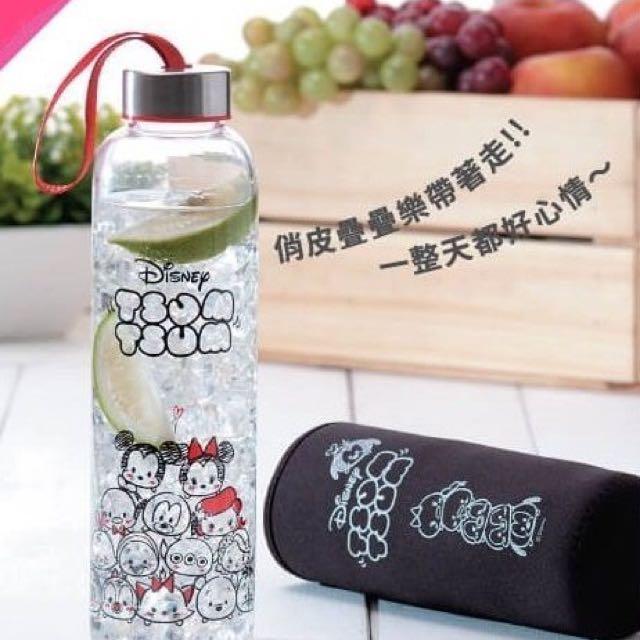 Tsum Tsum 玻璃水壺 手繪塗鴉款