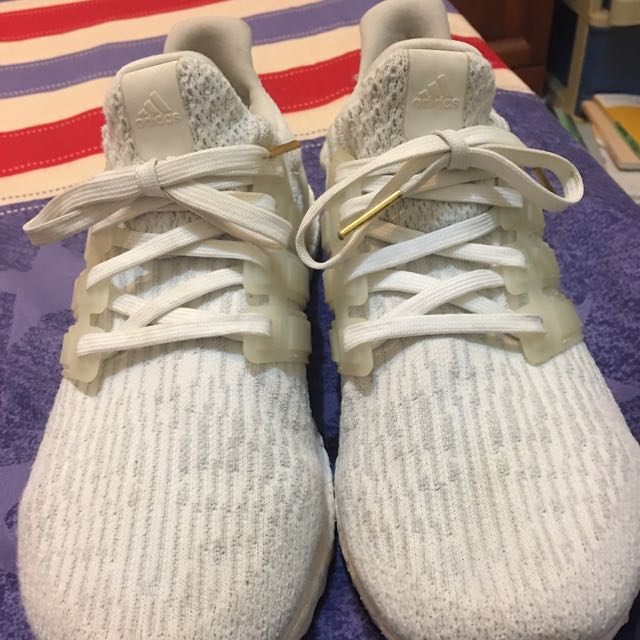 Ultra Boost3.0 白色white Us9.5