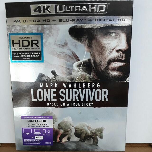 USA BLU RAY SLIPCASE - Lone Survivor 4K