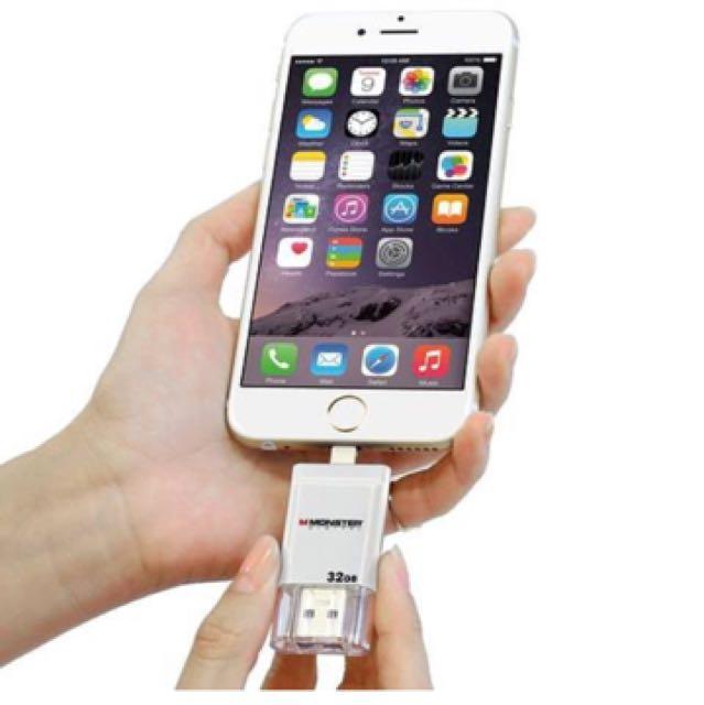 Usb Backup Storage 32gb For Iphone