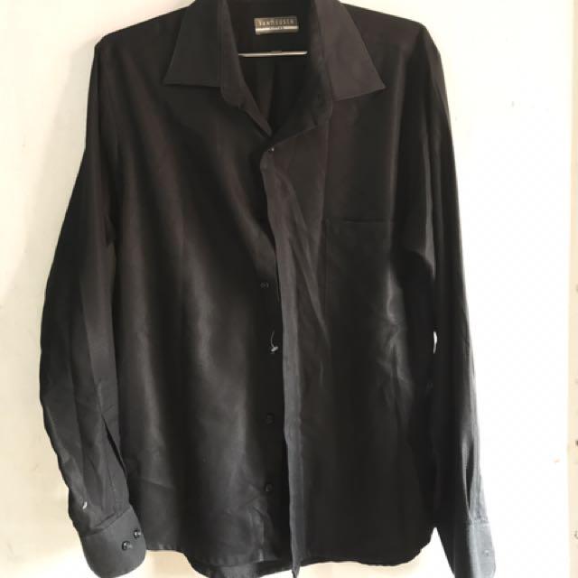 Van Heusen Black Long Sleeves