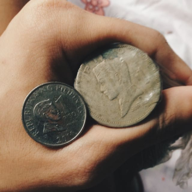 Vintage Piso Coins (1972)