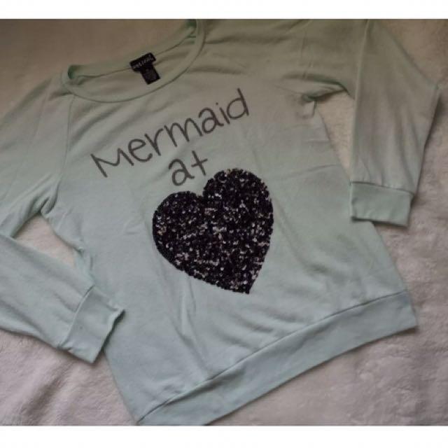 Wet seal Mermaid At Heart Fleece Pull-over
