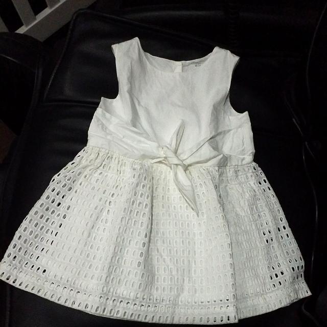 White Gingersnaps Dress