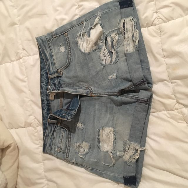 Witchery Ripped Shorts