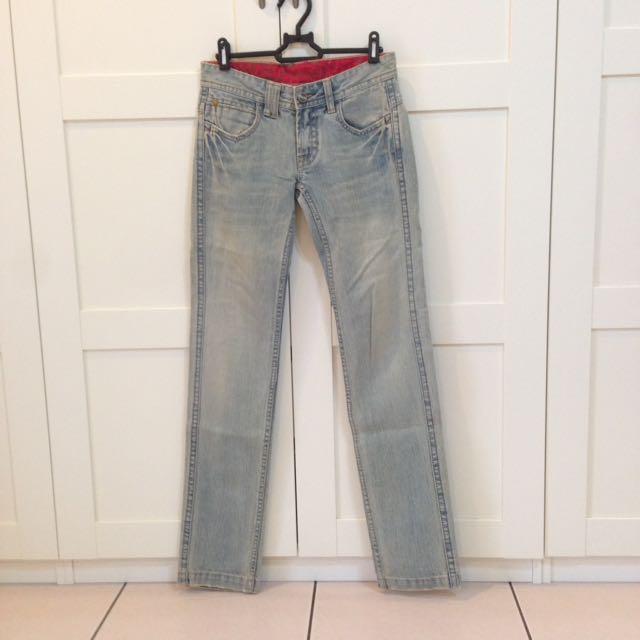 🇺🇸專櫃購入Wrangler刷色牛仔褲