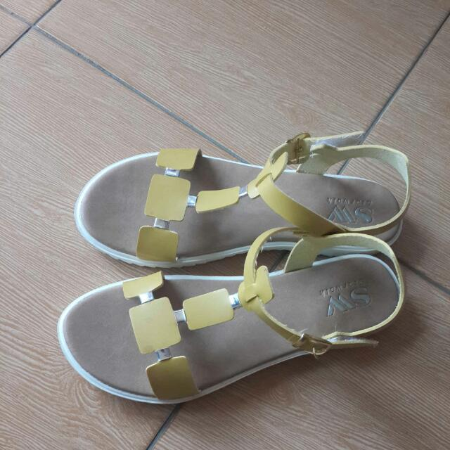 Yellow Yolk Sandals By SW