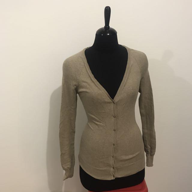 ZARA Brown Knit