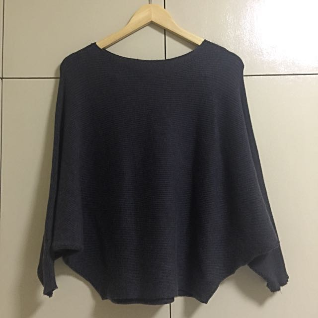 ZARA KNIT Dark Gray Pullover