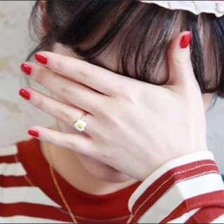 荷包蛋 戒指