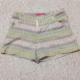 tribal designed short