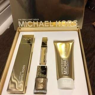 BNIB Michael Kors Perfume Set