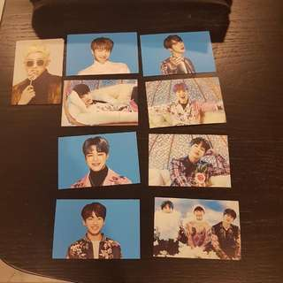 BTS WINGS TOUR mini Photocards  (VERSION 2)
