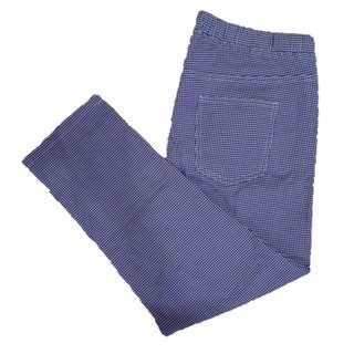 CLO 062 Checkered Stretchable Pants