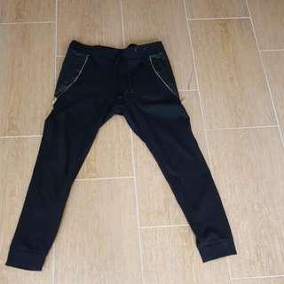 Black Joggers Slim Fit - Fits Like A Medium