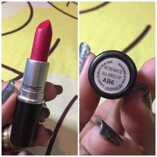 MAC Retro Matte All Fired Up AB6 💄
