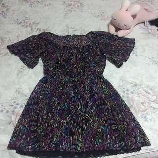 Mimi Chica Printed Dress