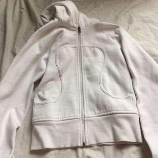 White Lululemon Sweater