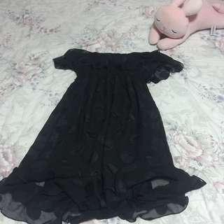 Johnny Martin Black Tube Dress