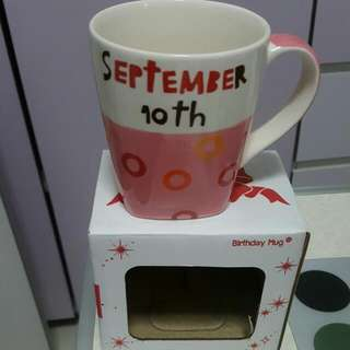 BNIB Birthday Mug