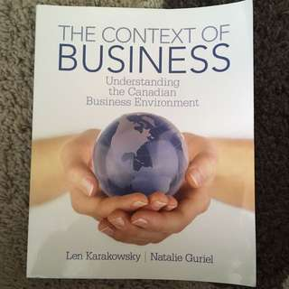 The Context Of Business