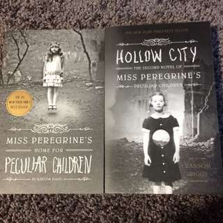 Miss Peregrines Home For Particular Children And Hollow City By Ransom Riggs