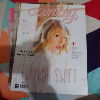 MAGAZINES 70 each (cover: Taylor Swift, Gabbi Garcia and Julia Montes)