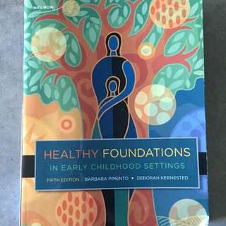 Healthy Foundation In Early Childhood Setting