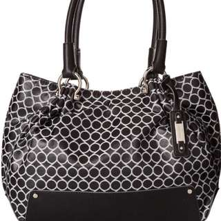 Nine West Mini 9S Sateen Tote Shouder Bag