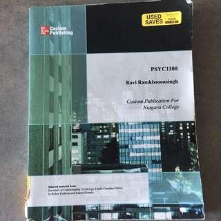 PSYC1100 Psychology Texbook Niagara College