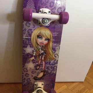 Girl's Bratz skateboard