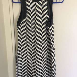 Witchery Dress - Black & White
