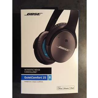 Bose QuietComfort (Q25) Noise Cancelling Headphones