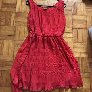 Mags Red Dress