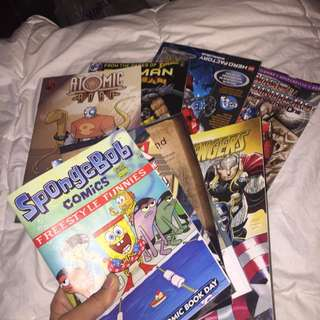 Comic Books!