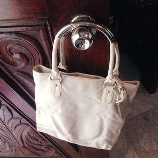 white bag by NY&C