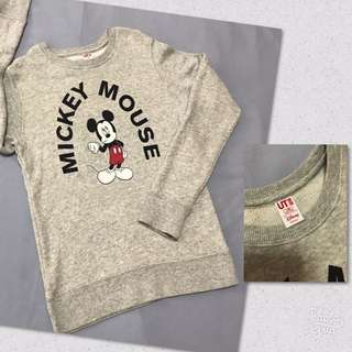 Uniqlo Mickey Mouse Swearshirt